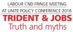 Labour CND fringe at Unite conference